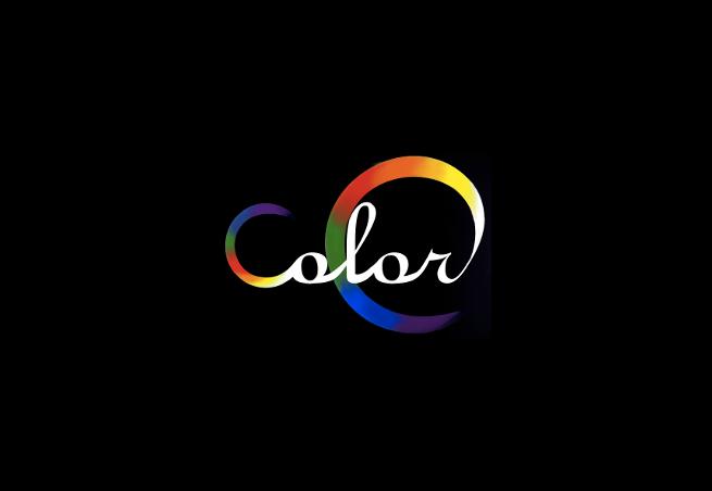 ColorC logo black - black bg