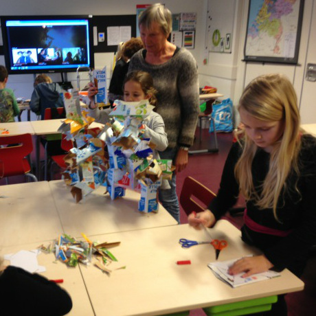 Communityproject OrbitFest Sentient Statues - Kubusschool Joseph Haydn - Egbert Pikkemaat - OrbitFest-3