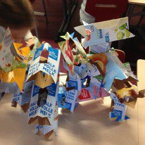 'Communityproject OrbitFest: Sentient Statues' – Kubusschool Joseph Haydn & Egbert Pikkemaat