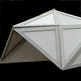 'Orbit-paviljoen: folding structure' – Hanze Academie voor Architectuur & Built Environment